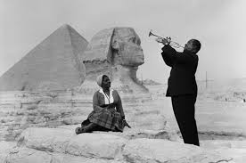Louis armstrong in egypt 1961